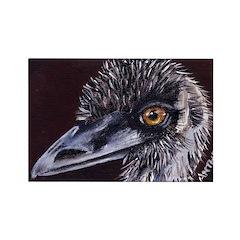 Emu Rectangle Magnet (100 pack)