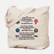Independent Thinker Tote Bag