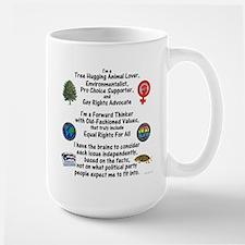 Independent Thinker Large Mug