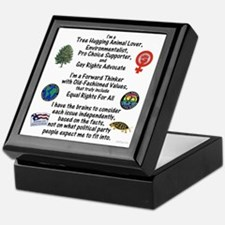Independent Thinker Keepsake Box