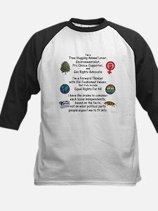 Independent Thinker Kids Baseball Jersey