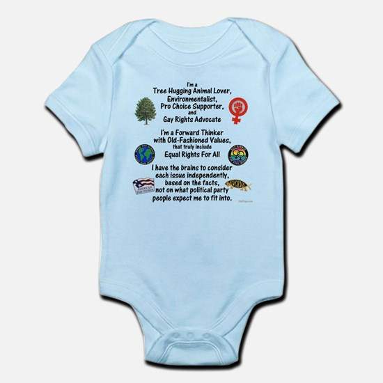 Independent Thinker Infant Bodysuit