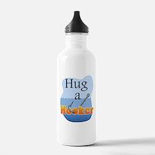Hug a Hooker - Sports Water Bottle