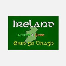 Erin Go Bragh Rectangle Magnet (100 pack)