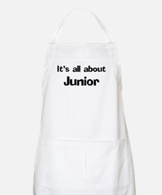 It's all about Junior BBQ Apron