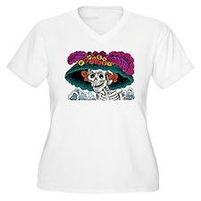 La Catrina Plus Size T-Shirt