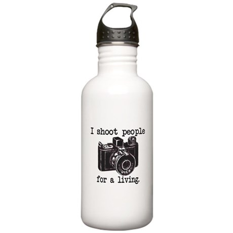 I Shoot People - Stainless Water Bottle 1.0L