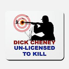 Cheney Hunting Mousepad