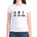 Life Love Tattoo Jr. Ringer T-Shirt