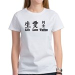Life Love Tattoo Women's T-Shirt
