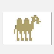 Pixel Camel Postcards (Package of 8)