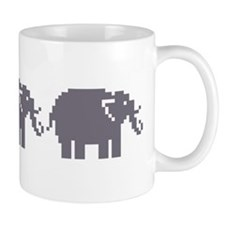 Pixel Elephant Mug