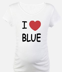 I heart Blue Shirt
