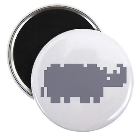Pixel Rhino Magnet