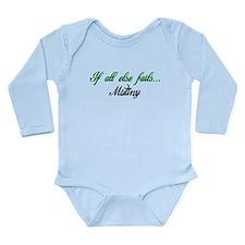 Mutiny - Black and green Long Sleeve Infant Bodysu