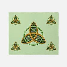 Celtic Trinity Knot Throw Blanket