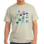 Polka Dot Cupcakes Light T-Shirt