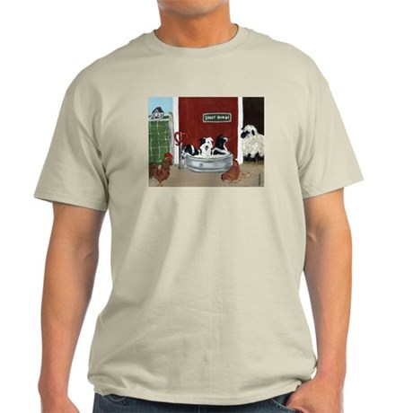 Collie Pool Party Light T-Shirt