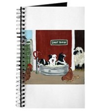 Collie Pool Party Journal