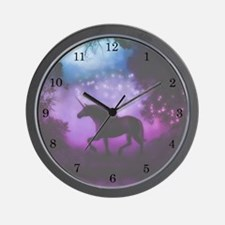 Enchanted Unicorn Wall Clock
