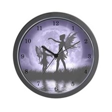 Fairy Sisters Wall Clock