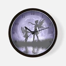 Fairy Sisters Wall Clock
