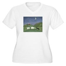 A Sheepdogs Work Is Never Done Plus Size T-Shirt