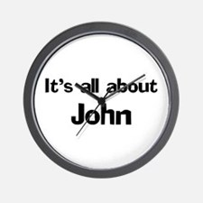 It's all about John Wall Clock