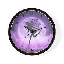 Seeking Serenity Fairy Wall Clock