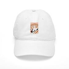 Cute Border collie art Baseball Cap