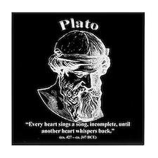 Plato 02 Tile Coaster