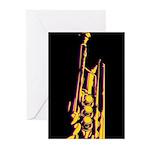Jazz Trumpet Card (Pk of 10)