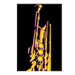 Jazz Trumpet Postcard (Pk of 8)