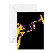 Jazz Trumpet Card