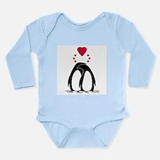 Loving Penguins Long Sleeve Infant Bodysuit