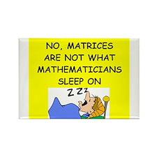 funny math joke Rectangle Magnet