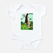 Cute Happy little trees Infant Bodysuit
