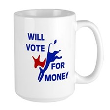 VOTE EARLY AND OFTEN Mug