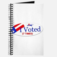 VOTE EARLY AND OFTEN Journal