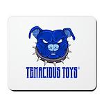Tenacious Toys Blue Pitbull Mousepad