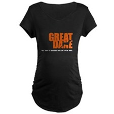 My Dog is Bigger Maternity T-Shirt