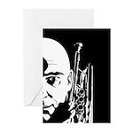 Jazz Trumpet Player Card (Pk of 20)