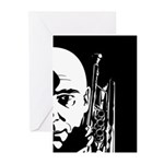 Jazz Trumpet Player Card (Pk of 10)