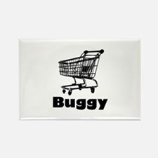 Buggy Rectangle Magnet