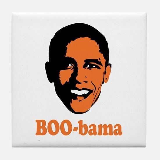 Halloween Boo Bama Tile Coaster