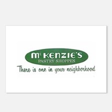 McKenzie's Pastry Shoppe Postcards (Package of 8)