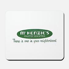McKenzie's Pastry Shoppe Mousepad