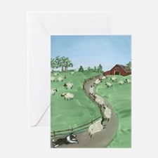 Street of Dreams Greeting Card