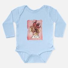 Flora 2 Long Sleeve Infant Bodysuit