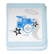 Blue Baby Drums Infant Blanket